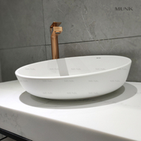 17 Inch Large Round Above Counter Basin