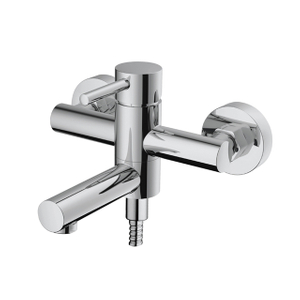 Home Bathroom Faucet Chrome-plated