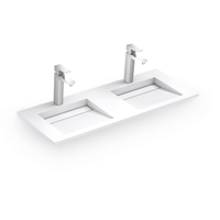2 Tap Hole Wall-hung Basin