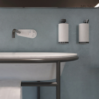 Wall-mount basin mixer