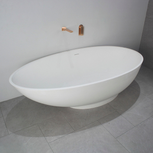 70 Inch Egg Bathtub with Modern Style
