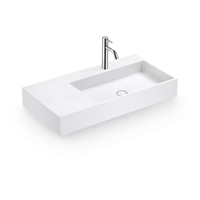 Wall-hung Basin for Single Bathroom