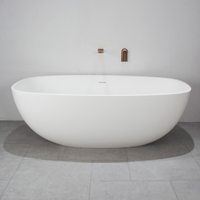 70 Inch Traditional Style Freestanding Bathtub